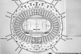 king fahd international stadium plan archnet