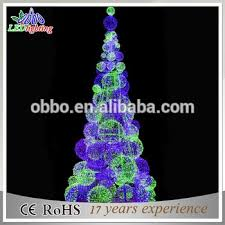 Christmas Light Balls For Trees Big Creative Balls Christmas Tree For Christmas Decorations Giant