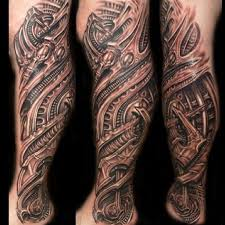 biomechanical tattoos 20 totally amazing biomechanical designs