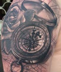 tattoo compass realistic 100 awesome compass tattoo designs art and design