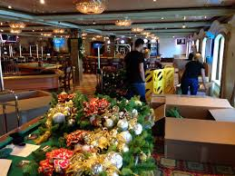 Cruise Decorations Ship Ahoy U2013 Carnival Cruise Ships Christmas Decorations My Concierge