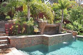 Landscaping Ideas For Hillside Backyard How To Build A Pool What To Do With A Sloped Backyard