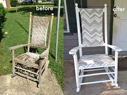 Wicker Rocking Chairs For Porch We Can Make Anything Rocking Chair Redo
