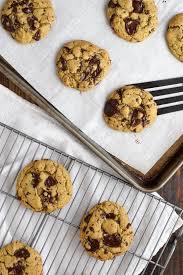 buckwheat olive oil dark chocolate chunk cookies tasty seasons
