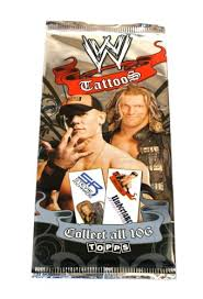 wwe tattoos amazon co uk toys u0026 games