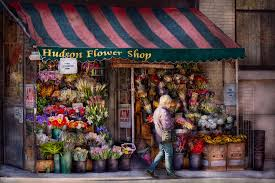 flower store flower shop ny chelsea hudson flower shop photograph by mike