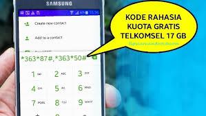 kode kuota gratis telkomsel 4 kode kuota gratis 17gb telkomsel terbaru 2017 tips cara android
