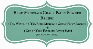 funky junk blue minerals chalk paint powder