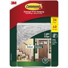 3m Command Outdoor Light Clips