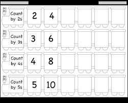 skip counting by 2 3 4 and 5 u2013 worksheet free printable