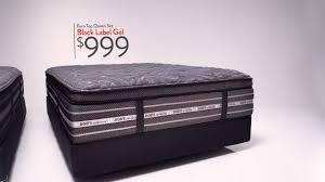 Bobs Furniture Sofa Bed Mattress by Dare To Compare My Black Label Gel Euro Top Mattress Bob U0027s