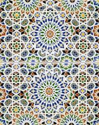 nazir 2 bemalte marokkanische fliesen set bunte fliesen