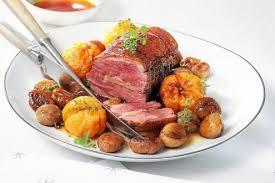cuisine pour deux plat rôti aux deux magrets foie gras clémentines et marrons