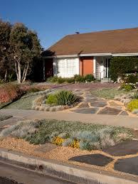 garden landscape house landscaping ideas concept desert modern