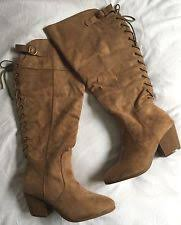 size 11w womens boots wide calf boots ebay