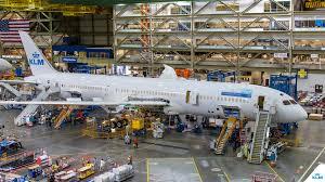 assembling the boeing 787 dreamliner klm blog