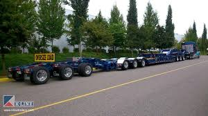 multi axle trailers u0026 heavy haul k line trailers design