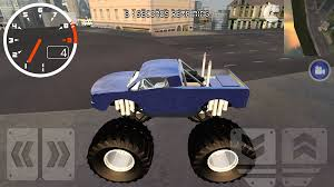 bigfoot monster truck cartoon monster truck city driving sim android apps on google play