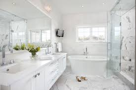 marble tile bathroom ideas white marble tiled floor transitional bathroom martha o hara