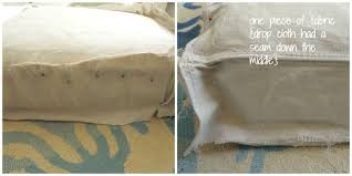 Slipcovers Made From Drop Cloths The Cheater U0027s Guide To Making A Slipcover For Under 20 Up To