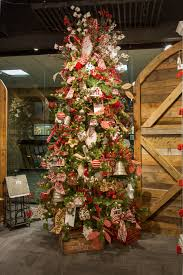 rustic traditional tree and decor ciao