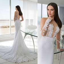 Fitted Wedding Dresses 2015 New Arrival Long Sleeves Fitted Wedding Dresses Summer