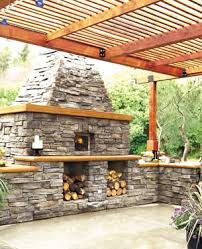 Chiminea With Pizza Oven Cooking With Firewood
