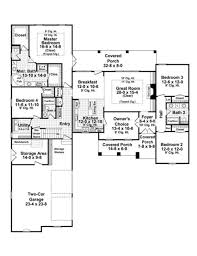 traditional style house plan 4 beds 3 00 baths 2400 sq ft plan