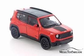 jeep red 2017 2017 jeep renegade trailhawk red w black welly 43736d 1 43