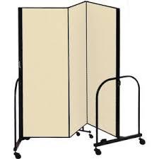 6 u0027 h screenflex freestanding portable room divider supply