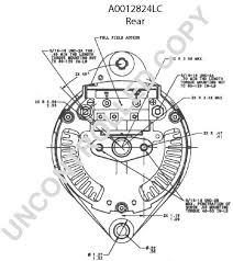 alternators 270 2824l leece neville 160a 12v irif j180 duvac