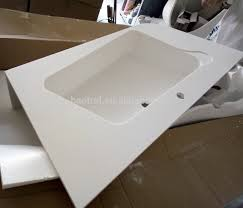 list manufacturers of integrated bathroom sink and countertop buy