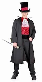 Moulin Rouge Halloween Costume Jack Ripper Halloween Men U0027s Fancy Dress Costume Deluxe 5 Piece