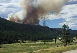 Wildfire Castlegar by The Princeton Fire In Photos Nelson Star
