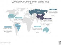 powerpoint country maps templates map presentation design u0026 ppt