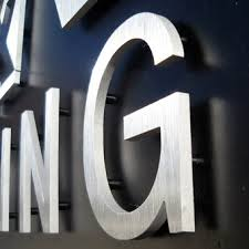 dimensional sign letters for interior and exterior use