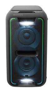 sony high powered bluetooth light up speaker gtk xb5 sony high power black home audio system with bluetooth gtk xb7bc
