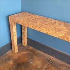 burl wood console table faux burl wood console table good eye gallery