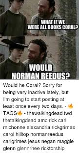 Rick Carl Memes - 25 best memes about negan walking dead negan walking dead memes