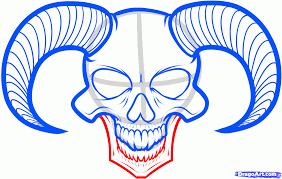 how to draw a skull skull by skulls
