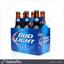 how much is a six pack of bud light image of bud light six pack side end view