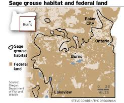 Map Of Fires In Oregon by Oregon Lawmaker Floats Tax To Keep Sage Grouse Off Endangered