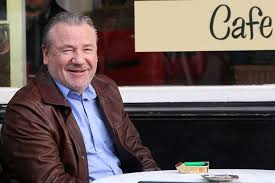gangster film ray winstone hollywood hardman ray winstone spotted in eccles filming scenes for