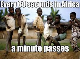 Poor African Kid Meme - the harm of pictures of children with flies in their eyes