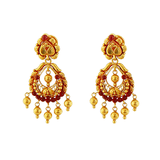 gold ear ring images find the top indian gold earring designs cmr jewellers
