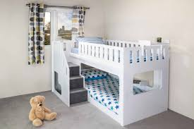 Wooden Loft Bed Diy by Bunk Beds Diy Storage Stairs For Loft Bed Loft Bed With Desk And