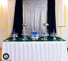 Dallas Cowboys Drapes by Dallas Cowboys Baby Shower Centerpiece Crafts Pinterest