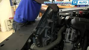 how to install replace remove radiator fan 2008 13 chevy siverado