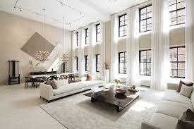 Luxury Livingrooms Living Room Industrial Design Double Height Living Rooms That