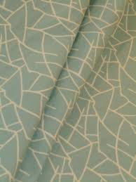 modern home decor fabric teal green geometric upholstery fabric
